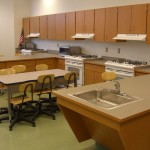 Home Economics Classroom Cabinetry