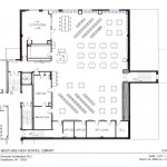 Furniture Plan for Westlake High School Library