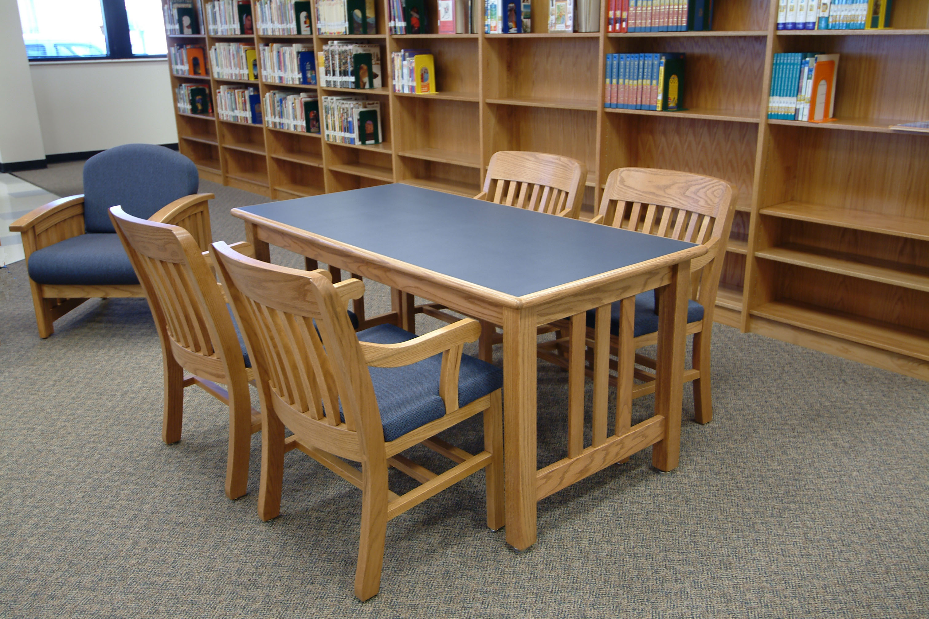 Tesco Wood Library Furniture on New York State Contract. Longo Schools   Blog Archive   Tesco Wood Library Furniture on New