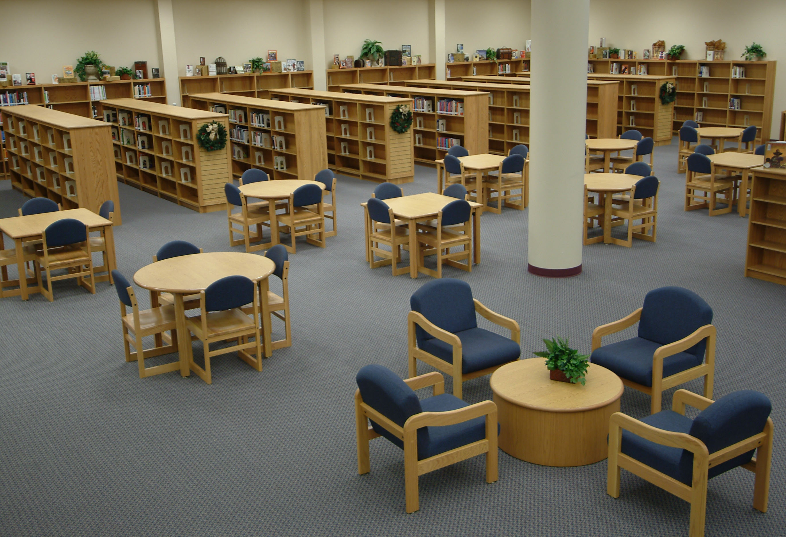 Longo Schools Blog Archive Tesco Library Seating - Library furniture