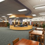 Union City Demo High School Library