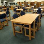 Wood Study Tables