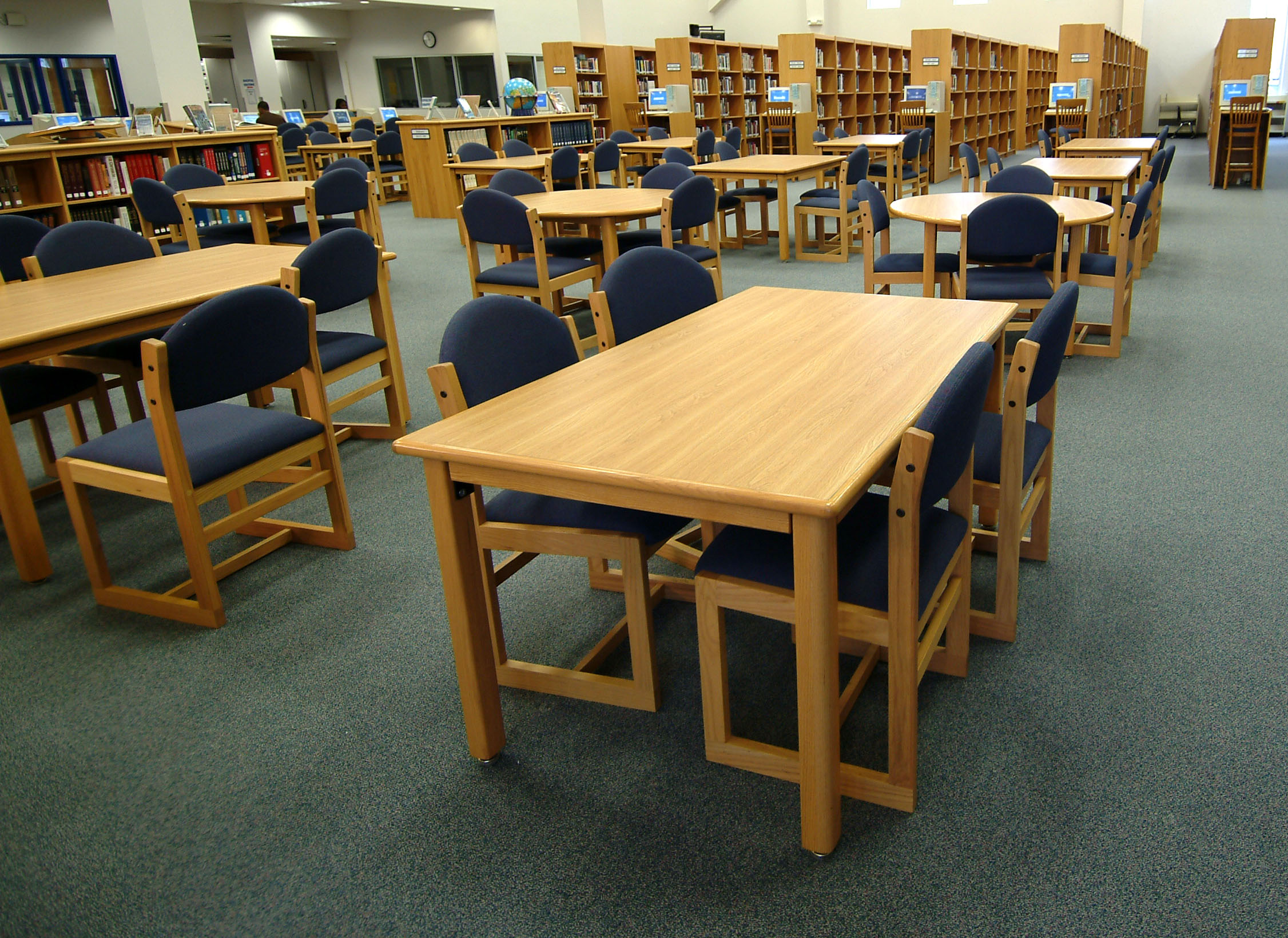Longo Schools Blog Archive Wood Study Tables