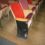 Auditorium Seating Needing Restoration Services