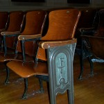 High School Auditorium Seating Needing Restoration