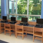 Library Computer Carrels