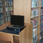 OPAC Computer Station