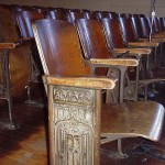 Restoring Wood Auditorium Seating