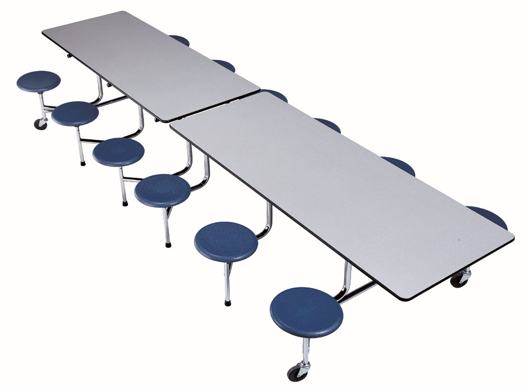 Rectangle Cafeteria Table with Stools  sc 1 st  Longo Schools & Longo Schools » Blog Archive » Rectangle Cafeteria Table with Stools islam-shia.org